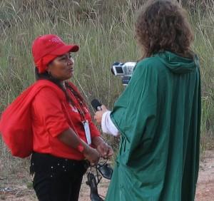 Entrevista Venezuela mujer indígena, Sandra Camps